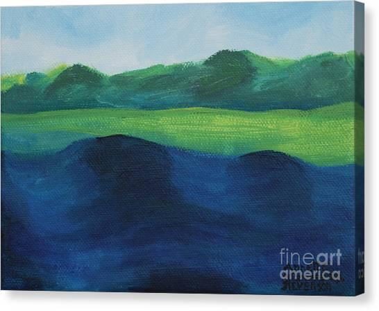Lake Day Canvas Print