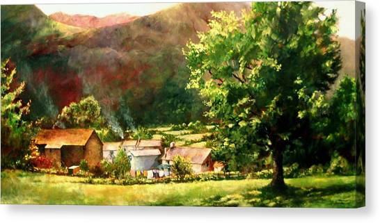 Lake District In May Canvas Print