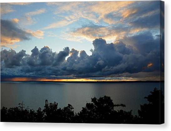 Lake Effect Sky Canvas Print