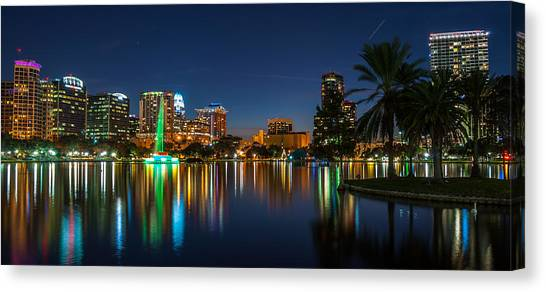 Lake Eola Orlando Canvas Print