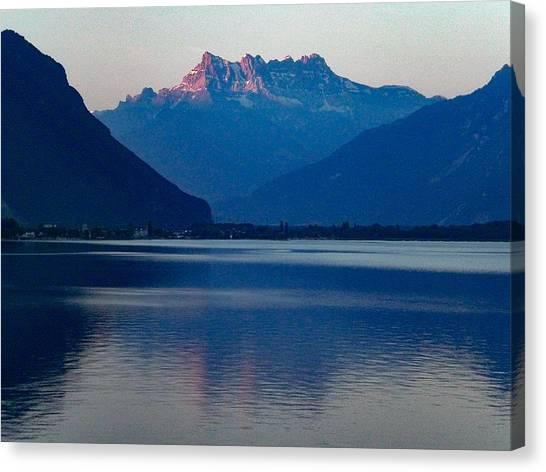 Lake Geneva, Switzerland Canvas Print
