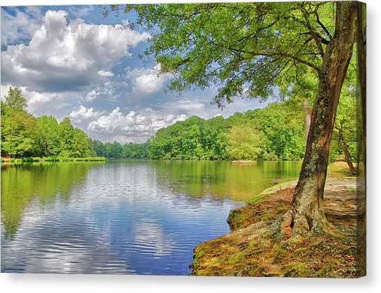 Lake Haigler 2014 01 Canvas Print