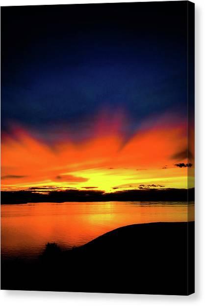 Lake Havasu Sunset Canvas Print