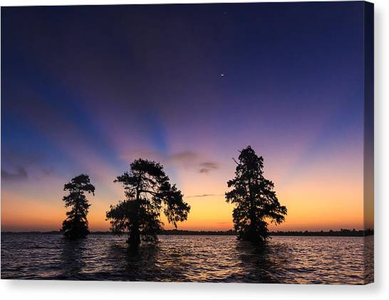 Lake Istokpoga Sunrise Canvas Print