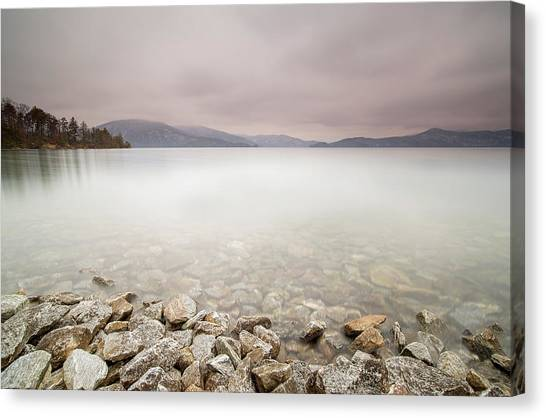 Lake Jocassee 12 Canvas Print by Derek Thornton