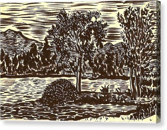 Lake Leek Canvas Print