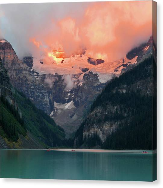 Lake Louise 1 Canvas Print