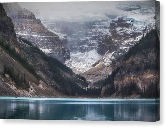 Alberta Canvas Print - Lake Louise No 1 by Chris Fletcher