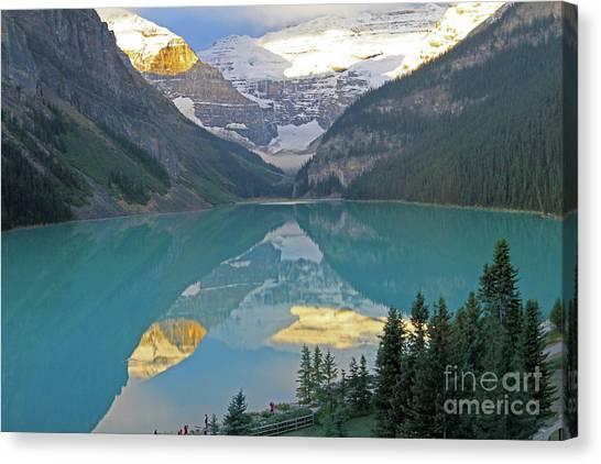 Lake Louise Sunrise Canvas Print
