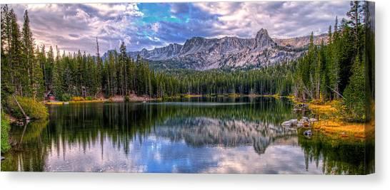 Lake Mamie Panorama Canvas Print