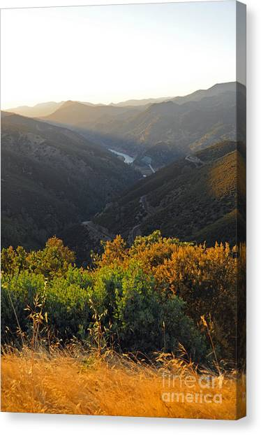 Lake Mcclure Ca Canvas Print