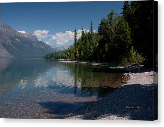 Lake Mcdonald Montana Canvas Print