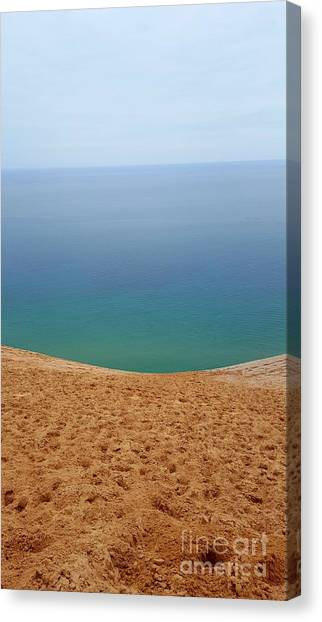 Lake Michigan Colors Canvas Print