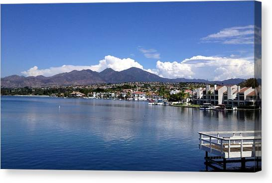 Lake Mission Viejo Canvas Print