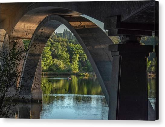 Lake Natoma Arch Canvas Print