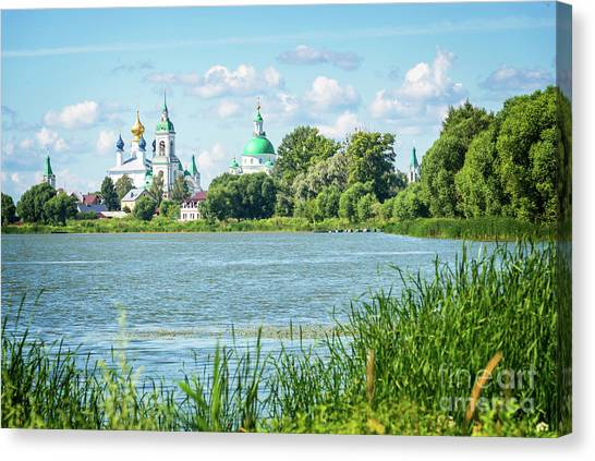 Orthodox Canvas Print - Lake Nero by Delphimages Photo Creations