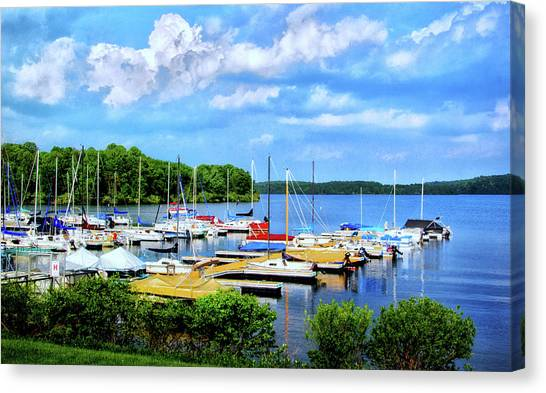 Lake Nockamixon Marina Canvas Print
