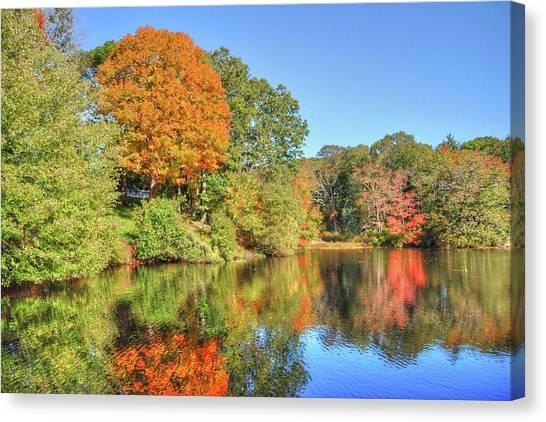 Lake Noquochoke, Dartmouth, Ma Canvas Print