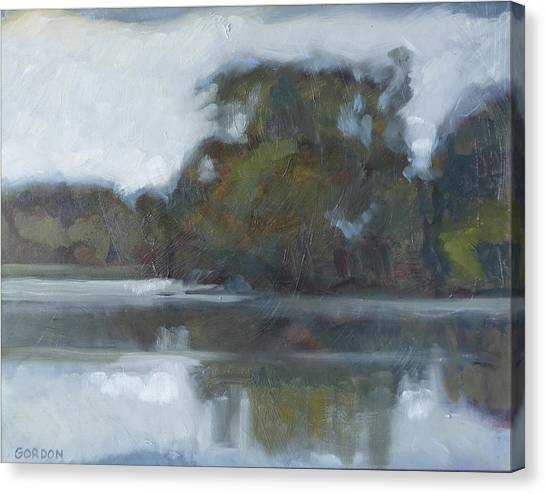 Canvas Print - Lake Of The Isles by Kim Gordon