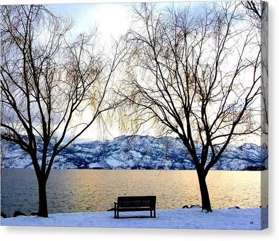Okanagan Valley Canvas Print - Lake Okanagan Solitude by Will Borden