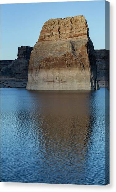 Lake Powell Monolith Canvas Print