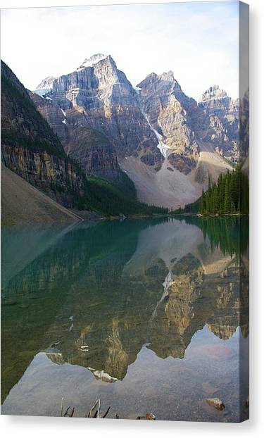 Lake Reflection  Canvas Print