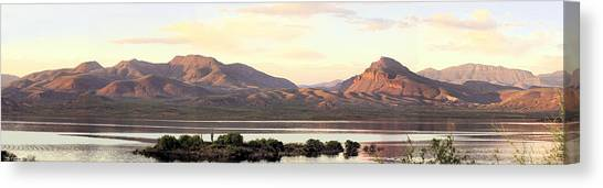 Lake Roosevelt Canvas Print by Sharon Broucek