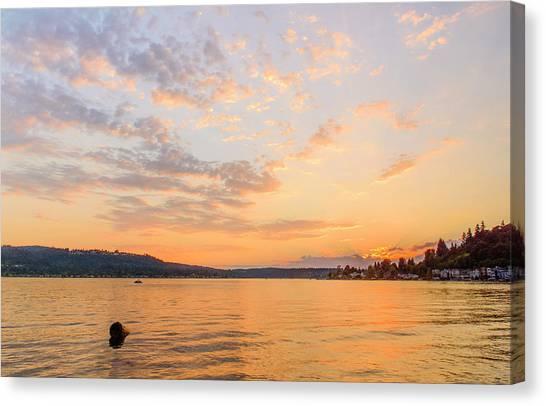 Lake Sammamish Canvas Print