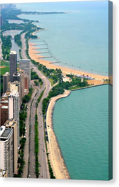 Lake Shore Dr . Chicago Canvas Print