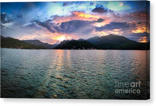 Lake Solstice Canvas Print