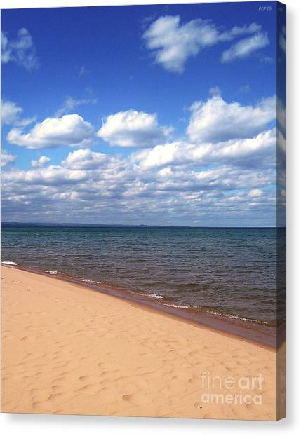 Lake Superior In Summer Canvas Print