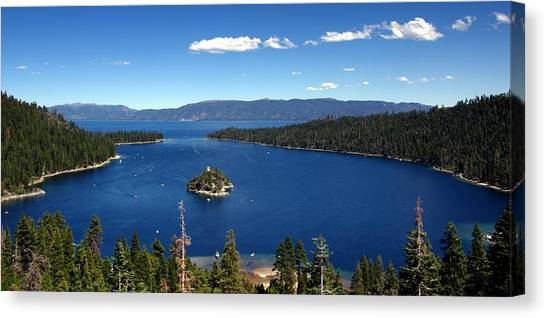 Lake Tahoe Emerald Bay Canvas Print