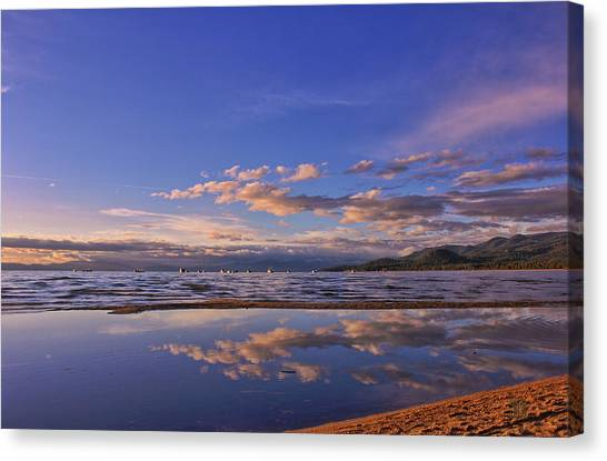 Lake Tahoe Evening Canvas Print