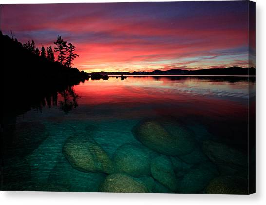 Lake Tahoe Jewels Canvas Print
