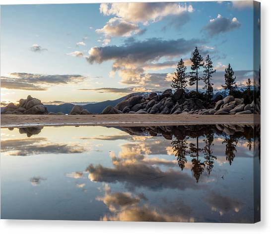 Lake Tahoe Mirror Canvas Print