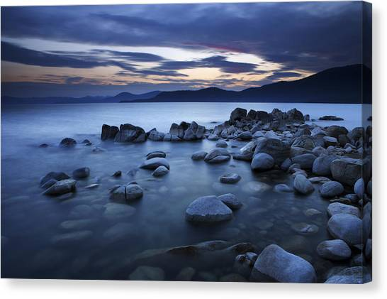 Lake Tahoe Sunset Canvas Print