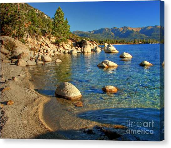 Lake Tahoe Tranquility Canvas Print