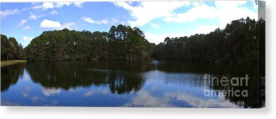 Lake Thomas Hilton Head Canvas Print