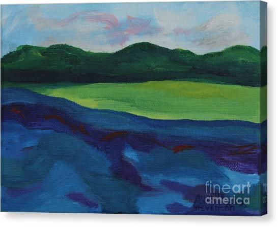 Lake Visit Canvas Print