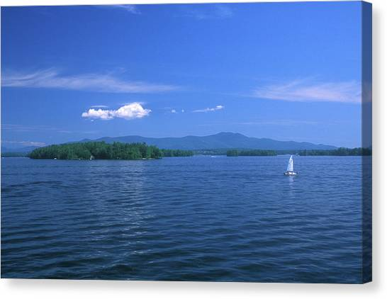 Lake Winnipesaukee Summer Day Canvas Print