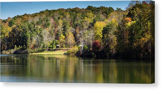Lake Zwerner, Georgia Canvas Print