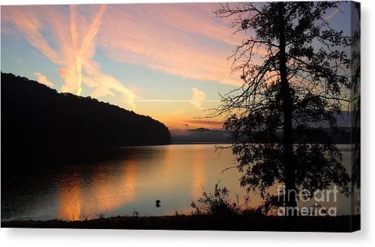 Lakeside Dreaming Canvas Print