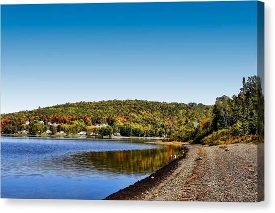 Lakeside Portage Canvas Print by Gary Smith