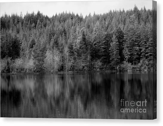 Lakeside Retreat Canvas Print