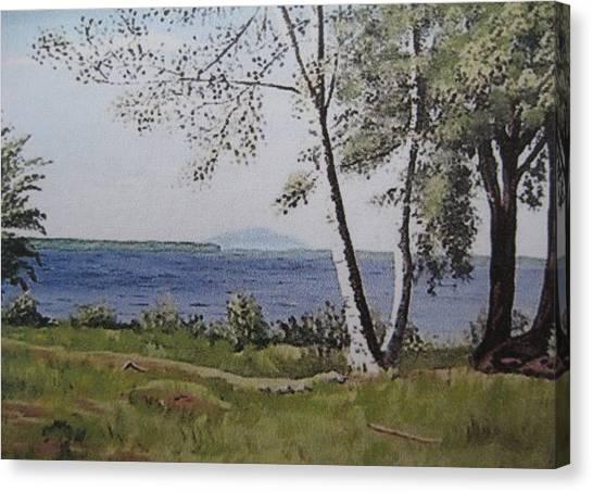 Lakeview Landing Canvas Print