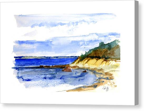Lambert Cove Canvas Print