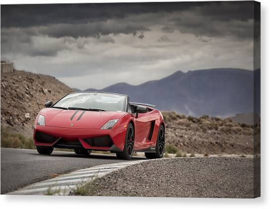 Lamborghini Gallardo Lp570-4 Spyder Performante Canvas Print