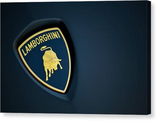 Canvas Print featuring the photograph Lamborghini  by ItzKirb Photography