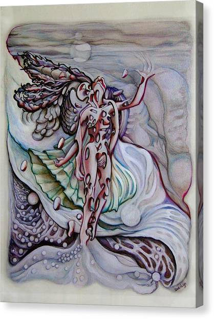 Lament A Wing Canvas Print