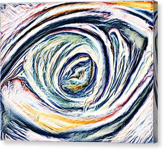 Lamentations Canvas Print